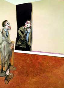Francis Bacon: Portrait Of George Dyer Staring Into A Mirror (1967)